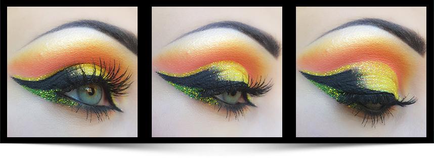 Banana ögonskugga makeupartist Anna